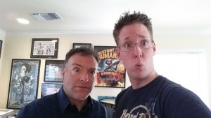 Jay Britton and Richard Horvitz