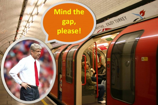 Arsene Wenger Takes Over London – London Underground That Is!