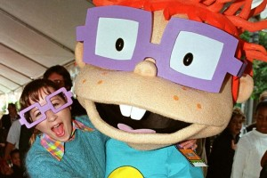 Christine as Chuckie