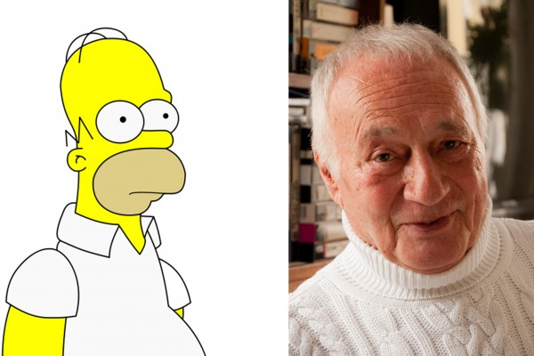 Germany's Homer Simpson is an Octogenarian!