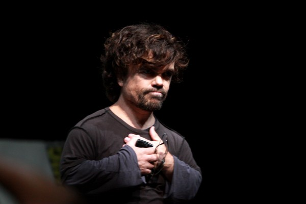 Peter Dinklage in a Middle of a Big Voice Over Replacement