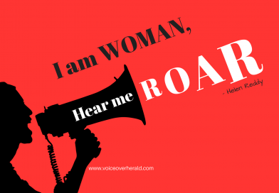 I Am a Female Voice Over, Hear me Roar!
