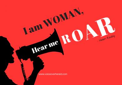 I Am a Female Voice Over, Hear me Roar!